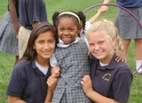 Our Big and Little Buddy program puts our youngest students with our oldest, as mentors.