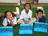 1:1 technology in Preschool through 8th grade.  Preschool, Kindergarten and 1st grade use iPads; 2nd grade through 8th grade use Chromebooks