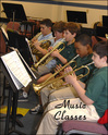 Band is offered to students beginning in the third grade.  We offer elementary band, middle school jazz and concert bands, as well as high school jazz and concert bands.   