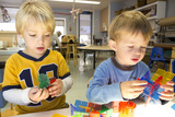 At the Preschool, we plan a balance of child initiated and teacher facilitated activities as well as individual, small or whole group experiences so children can learn from the teachers, the classroom materials and from each other.