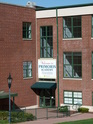 Main entrance of Primoris Academy - School for gifted and talented children -  located at 120 Washington Avenue in Westwood, New Jersey.