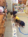 The Montessori method is all about sensory experiences: Visual, auditory, kinesthetic.