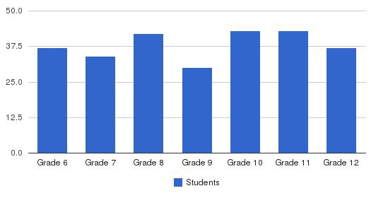 Hanson Memorial High School Students by Grade