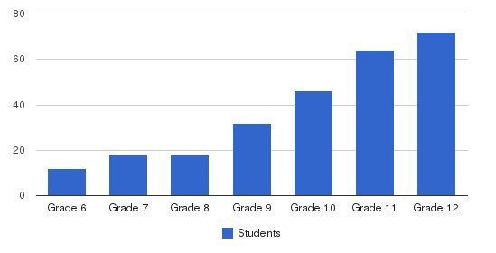 Hebron Academy Students by Grade