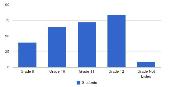Lee Academy Students by Grade