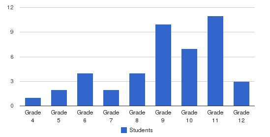 Salem School Students by Grade