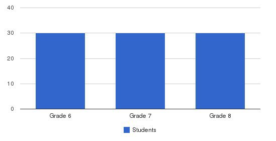 St. Ignatius Loyola Academy Students by Grade