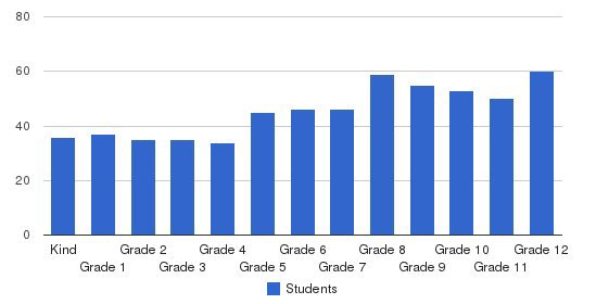 Maimonides School Students by Grade