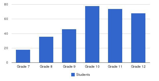 Army and Navy Academy Students by Grade