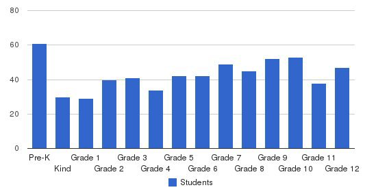 Houston Academy Students by Grade