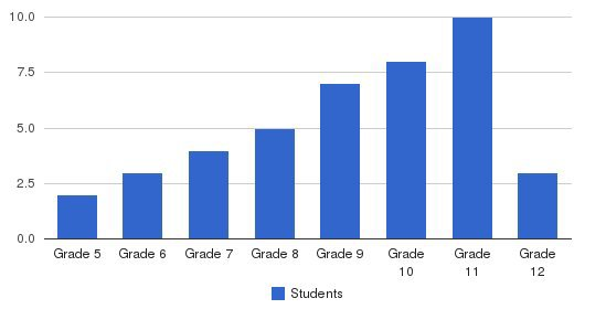 Ann Arbor Academy Students by Grade