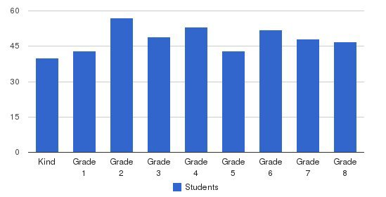 St Fabian Catholic School Students by Grade