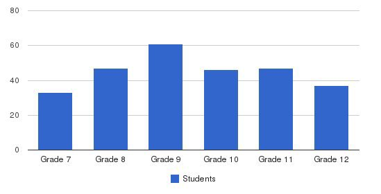 Bethlehem Academy Students by Grade