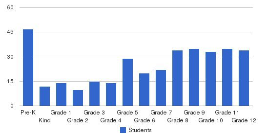 Bessemer Academy Students by Grade