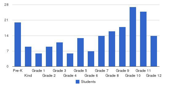 Newton County Academy Students by Grade