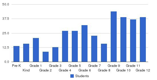 Macon East Academy Students by Grade