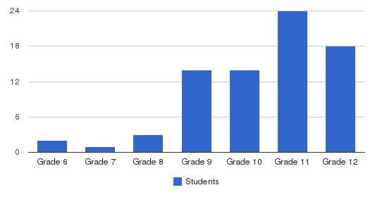 Chancellor Academy Students by Grade