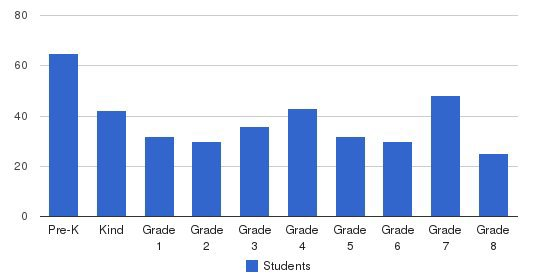 Our Lady Of Mercy Academy Students by Grade