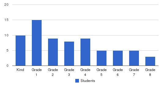 Community School, The Students by Grade