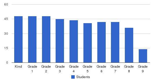 The Allen-stevenson School Students by Grade