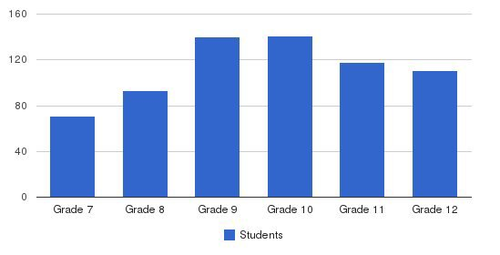 Our Lady Of Mercy High School Students by Grade
