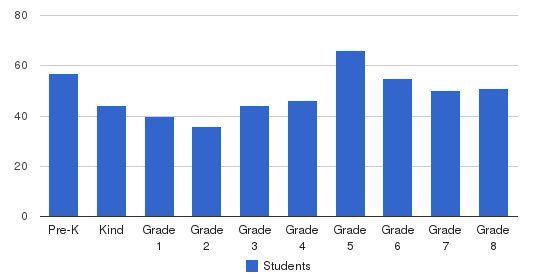St. Clares School Students by Grade