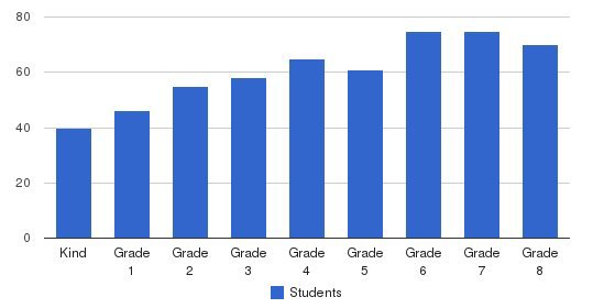 Epiphany School Students by Grade