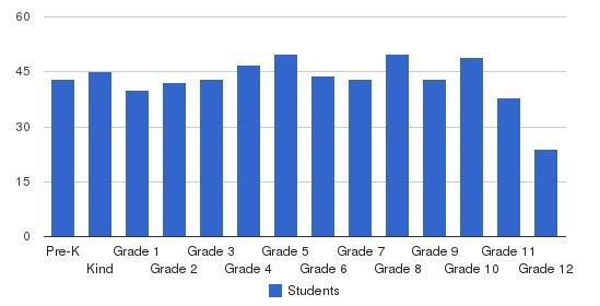 Yeshiva & Misivta Tiferes Elimelech Students by Grade