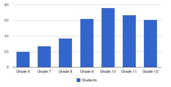 York Preparatory School Students by Grade