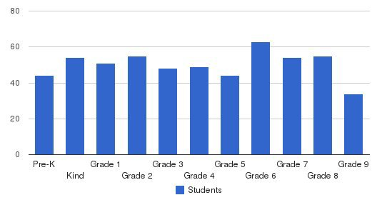 Summit School Students by Grade