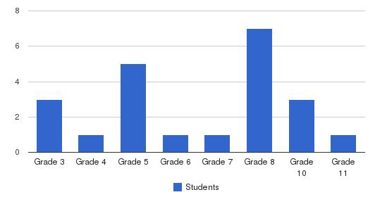 Merit Academy Students by Grade
