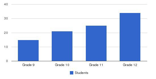 Mount Vernon Academy Students by Grade