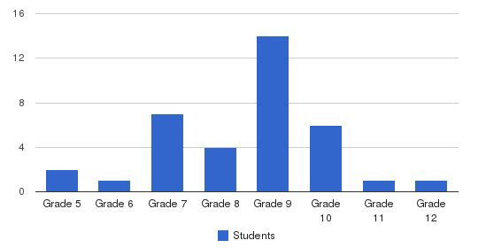 Rosemont Center School Students by Grade