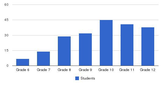 Carson Long Military Academy Students by Grade