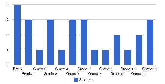 Emmanuel Wesleyan Academy Students by Grade