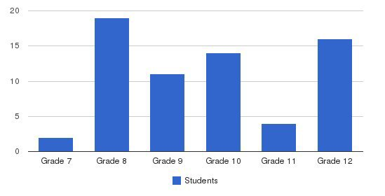 The Lincoln Center Students by Grade