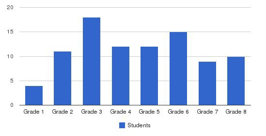 Camperdown Academy Students by Grade
