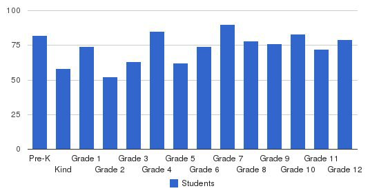 Laurence Manning Academy Students by Grade