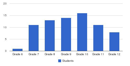 Carroll Academy Students by Grade
