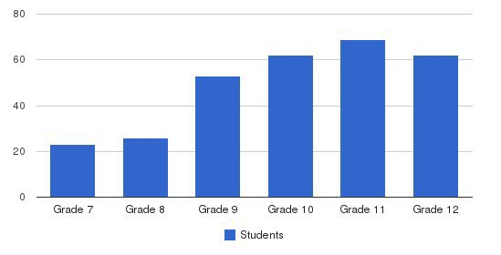 San Marcos Academy Students by Grade