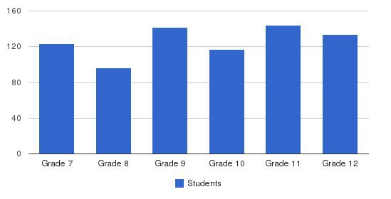 St. Joseph Academy Students by Grade