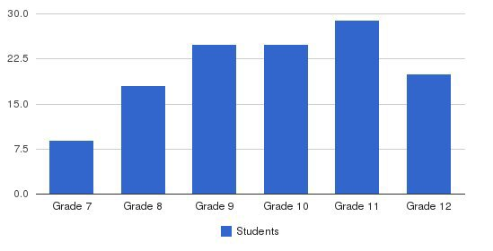 Stratton Mountain School Students by Grade