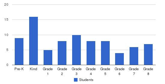 Wellspring School Students by Grade