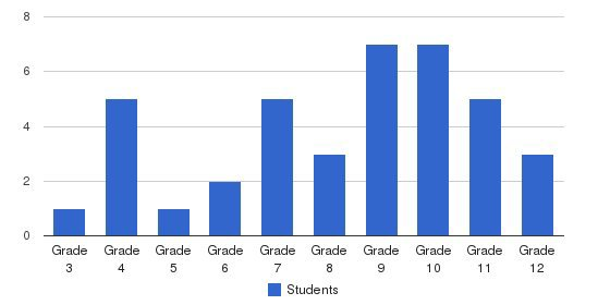 New Vistas School Students by Grade