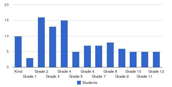 Richmond Academy Students by Grade