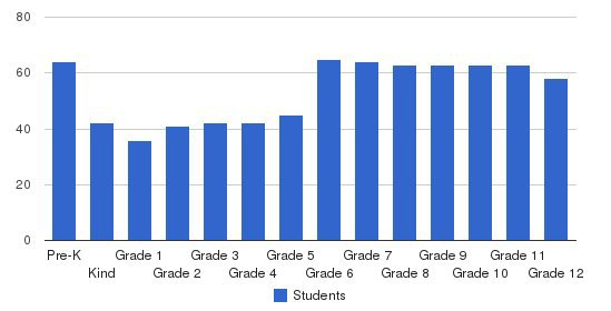 Christian Life School Students by Grade