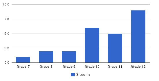 Academic Institute Students by Grade