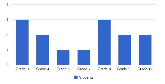 Ambassador Academy Students by Grade