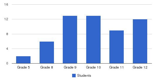 Stanislaus Academy Students by Grade