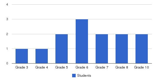 Tetra Academy Students by Grade